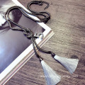 Fashion Chain Knot Necklace Figure Silk Tassel Necklace