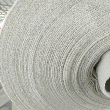 PP short fibers Nonwoven needle punched Geotextile