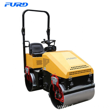 Drive Type 1 Ton Vibratory Road Roller Mini Roller Compactor
