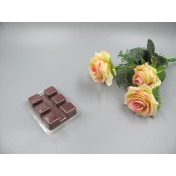 Scented Chocolate Colored  Wax Block