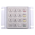 Customized Water Proof Stainless Steel Metal Keypad