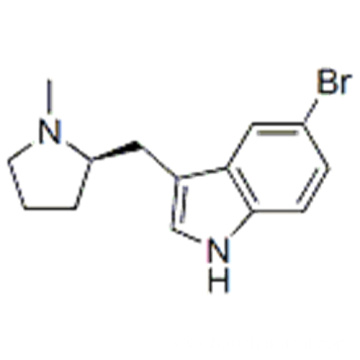 1H-Indole,5-bromo-3-[[(2R)-1-methyl-2-pyrrolidinyl]methyl] CAS 143322-57-0