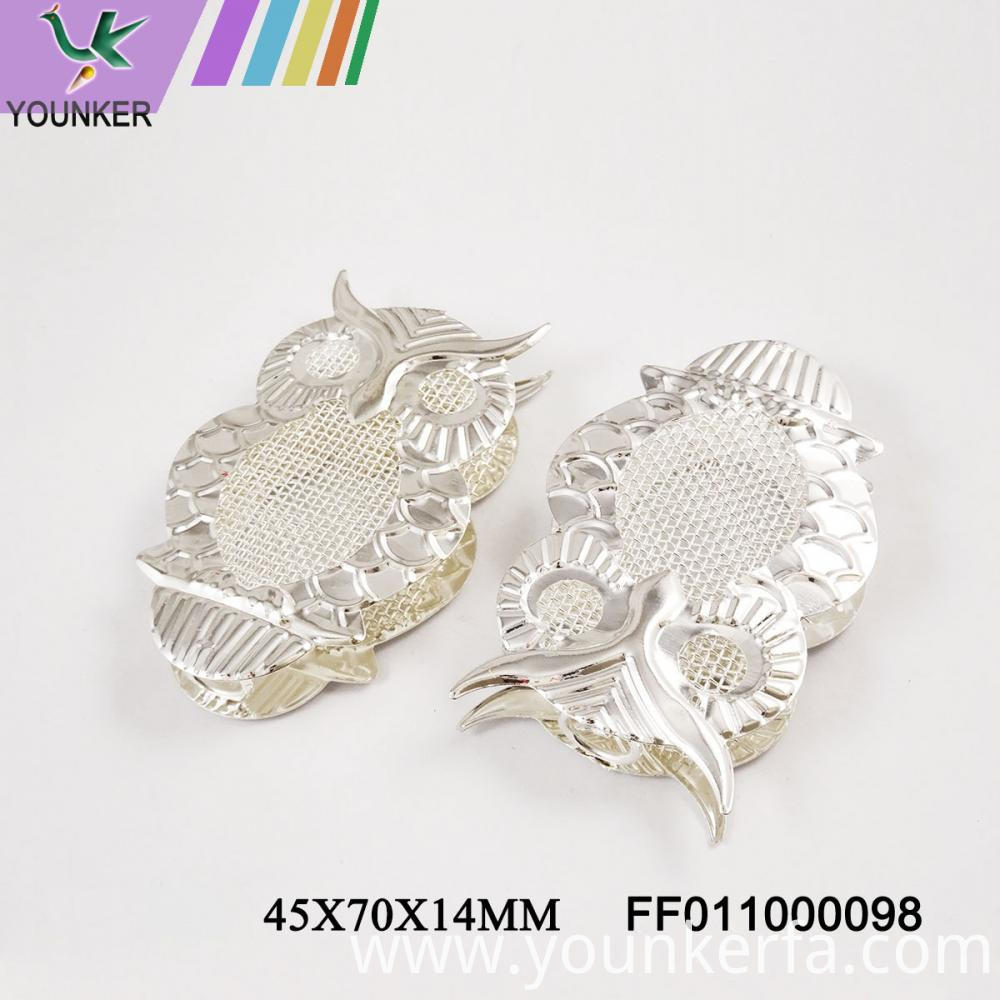 Led Light String Owl Shape Metal Ornaments