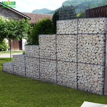 Cheap welded galvanized stone wall gabion cage