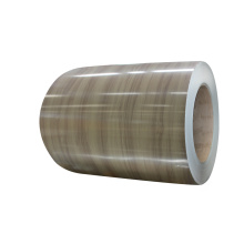 Wood pattern pvc film laminated aluminum coil