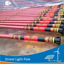 DELIGHT Outdoor Decorative Cast Iron Street Lighting Pole