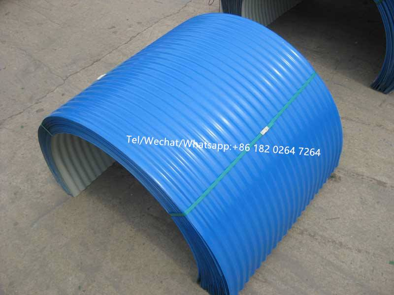crimping roof sheet