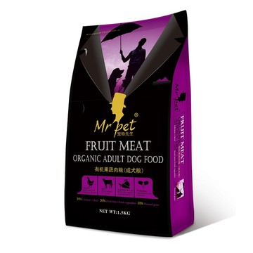 high quality pet food for dog