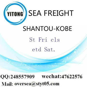 Shantou Port LCL Consolidation To Kobe