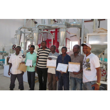 Mini maize milling plant (corn milling plant)
