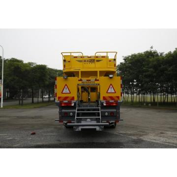 Spray slurry equipment Pavement