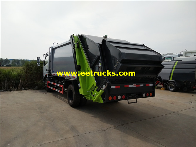 8000L Refuse Compactor Vehicles