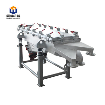 High efficiency grain linear vibrating screen