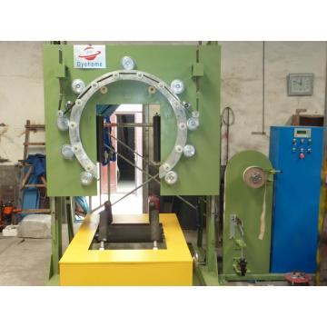 Vertical Ring Wrapping Machine