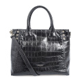 Casual Ladies Crocodile Tote Bag For Work Travel