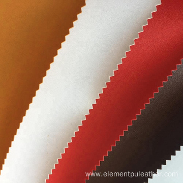 0.8mm Synthetic PVC Leather Spunlace Backing