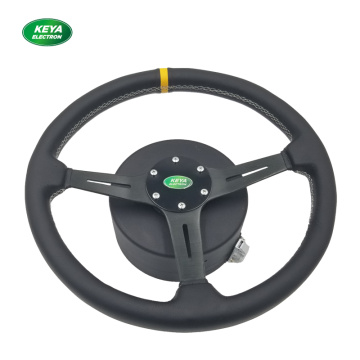 Automatic steering motor for driverless tractor