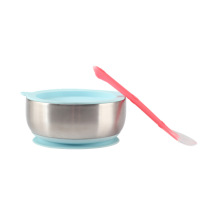 Baby FeedingStainless Steel SpillProof StayPut Suction Bowl
