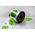 Gibuhat nga Customized Sealing Film Rolls Alang sa Plastic Cup Packing