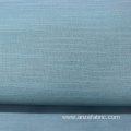 100% Blue Striped BCI Cotton Voile Fabric