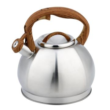3.0Litre octagon apple shape whistling kettle