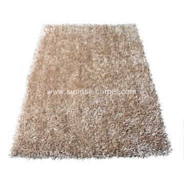 Viscose shaggy mixed color/design Carpet