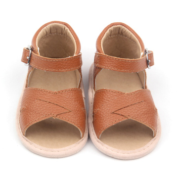 Colorful Brown Baby Sample Sandals