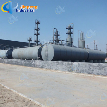 Continuous Black Oil Distillation Plant