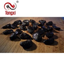 an Organic Food of peeled Black Garlic