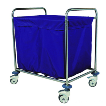 Hospital Stainless Steel Convenient Dirt Trolley