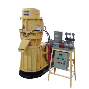 Flat die pellet machine feed small pellet mill