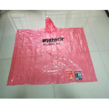 new design adult waterproof pink pe rain poncho