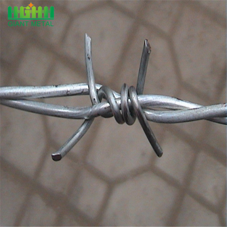 Double Twist High-tensile Wire Barbed Wire Mesh Fence
