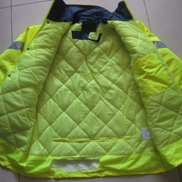 Reflective Winter Fire proof Jackets For Industry Workers
