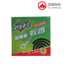 Disc mosquito repellent incense
