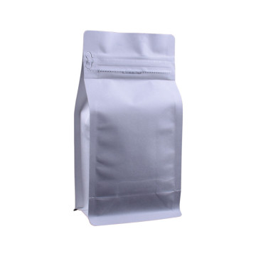 Wholesale customized printing flat bottom aluminum foil 12oz coffee  bag