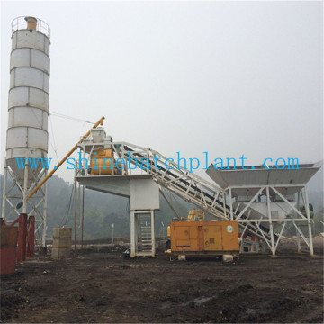 75 Portable Concrete Batching Equipment