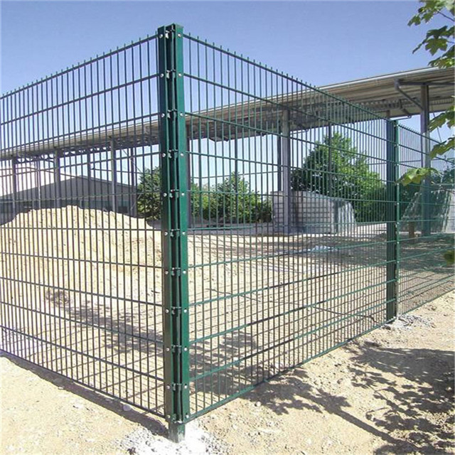 3D Double Wire Fence Welded Steel Mesh Fence