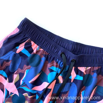 Custom Men's Elastic Waist Short Pants