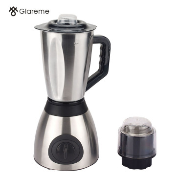 A Blander with a stainless steel cup