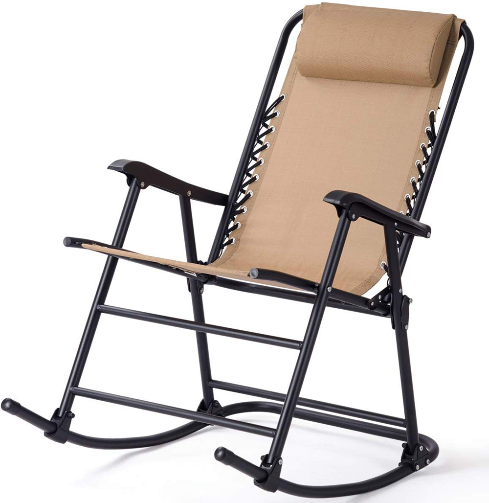 Beige Rocking Chair