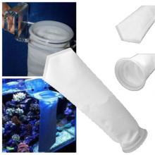 1Pc Aquarium Fish Tank Filter Bag Mesh Net Sump Felt Sock Micron Replacement White Aquarium Filters Accessories 20Jan29