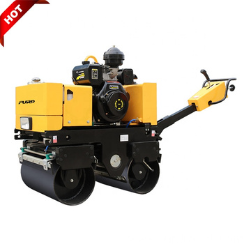 Compact Design 800kg Walk Behind Vibratory Smooth Drum Roller