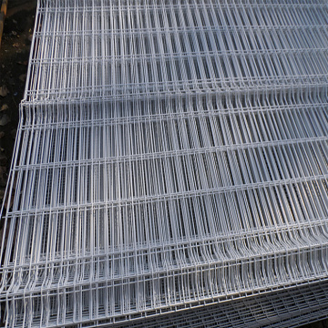 4x4 welded large square 3d fence
