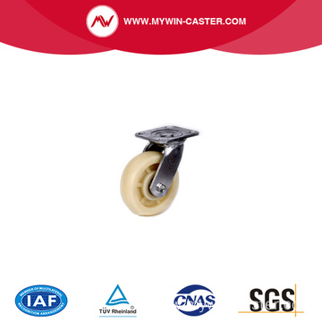 PU tread stainless steel caster