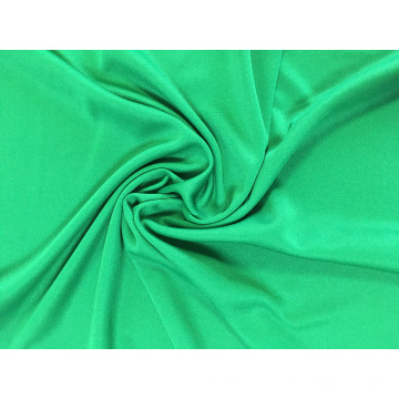 Fashion 100% polyester plain dyed knitted interlock fabric