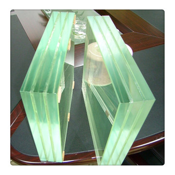 Ultra Clear Tempered Laminated Glass