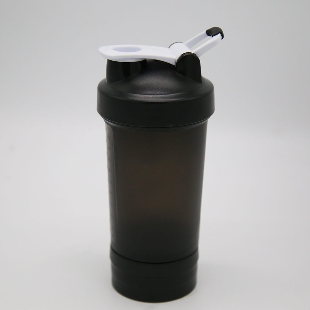 450ml Protein Shaker Bottle with 100cc Powder Container