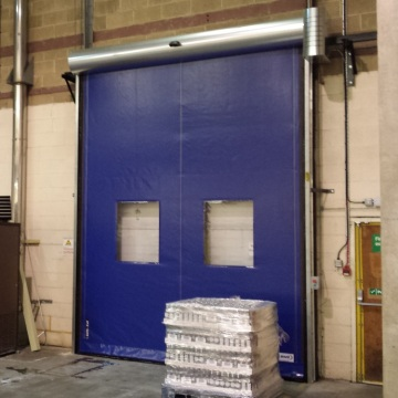 Rapid Open Logistic PVC High Speed Door