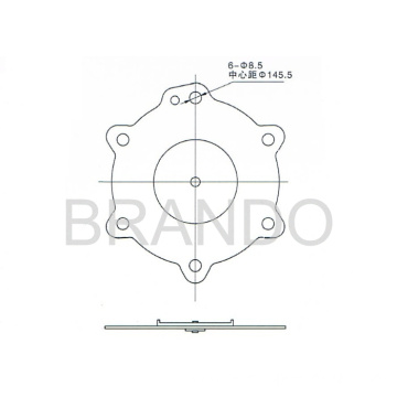 Asco Pulse Valve SCG353A050 Repair Kit Diaphragm